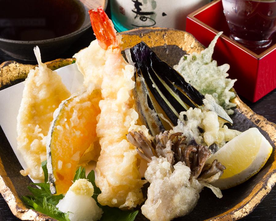 天ぷら定食 (1)
